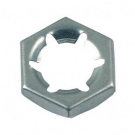 Ecrou PAL M27 mm Zingué - Boite de 100 pcs - DIAMWOOD 12002702B