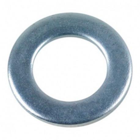 Rondelle plate étroite M7 mm Z Zinguée - Boite de 200 pcs - DIAMWOOD 41000702B