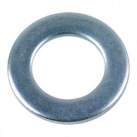 Rondelle plate étroite M10 mm Z Zinguée - Boite de 200 pcs - fixtout 41001002B