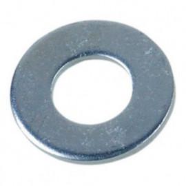 Rondelle plate moyenne M8 mm M Zinguée - Boite de 200 pcs - fixtout 42000802B