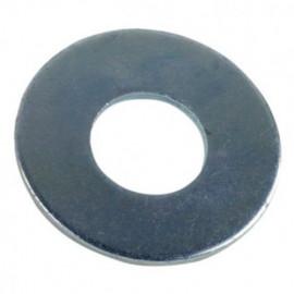 Rondelle plate large M14 mm L Zinguée - Boite de 100 pcs - fixtout 43001402B