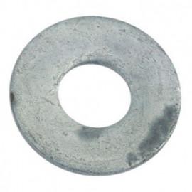 Rondelle plate large M16 mm Galvanisée - Boite de 100 pcs - fixtout 43001609B