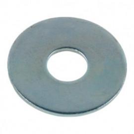 Rondelle plate extra large M6 mm LL Zinguée - Boite de 200 pcs - fixtout 44000602B