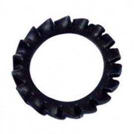 Rondelle denture extérieure M12 mm AZ Brut - Boite de 500 pcs - fixtout 50001201B