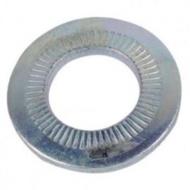 Rondelle contact moyenne M5 mm Zinguée CR3 - Boite de 1000 pcs - fixtout 60000503B