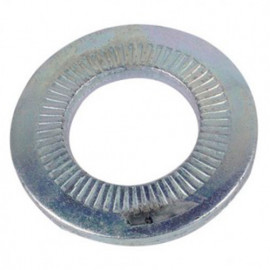 Rondelle contact moyenne M16 mm Zinguée CR3 - Boite de 100 pcs - fixtout 60001603B