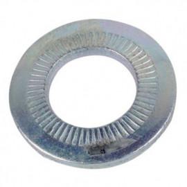 Rondelle contact étroite M6 mm Zinguée CR3 - Boite de 2000 pcs - fixtout 61000603B