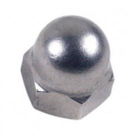 Ecrou borgne M10 mm INOX A2 - Boite de 25 pcs - fixtout EB10A2B25