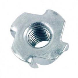 Ecrou à griffes M6 mm mm Zingué - Boite de 200 pcs - fixtout EGR0602B