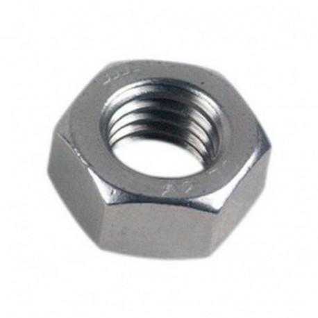 Hexagonal écrous 2 mm DIN 934 M 2 Acier Inoxydable a2 25 pcs.