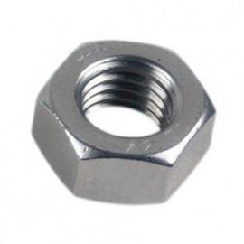 Ecrou hexagonal M6 mm INOX A2 - Boite de 50 pcs - fixtout EHU06A2B50