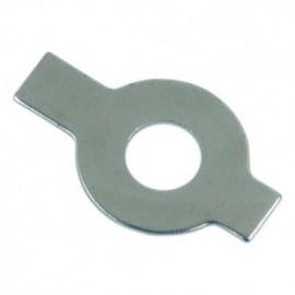 Frein d'écrou droit à aileron M6 mm Zingué - Boite de 100 pcs - fixtout FED0602B