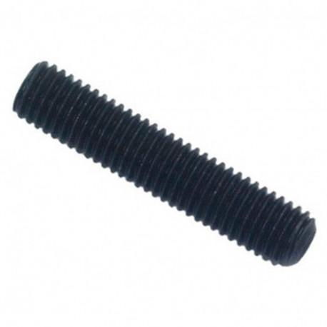 Vis sans tête 6 pans creux à bout cuvette STHC 3 x 25 mm Brut - Boite de 100 pcs - DIAMWOOD HCCU0302501B