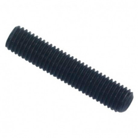 Vis sans tête 6 pans creux à bout cuvette STHC 4 x 8 mm Brut - Boite de 200 pcs - DIAMWOOD HCCU0400801B