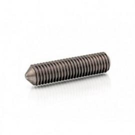 Vis sans tête 6 pans creux à bout pointeau 5 x 6 mm STHC INOX A2 - Boite de 200 pcs - fixtout HCPO05006A2