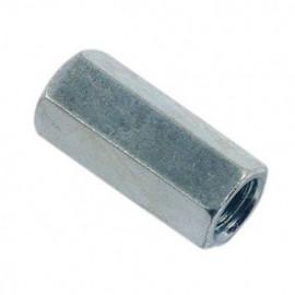 Manchon hexagonal M12 x 30 mm Zingué - Boite de 100 pcs - fixtout MAN1203002B