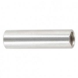 Manchon cylindrique M6 x 30 mm INOX A2 - Boite de 50 pcs - fixtout MANC06030A2