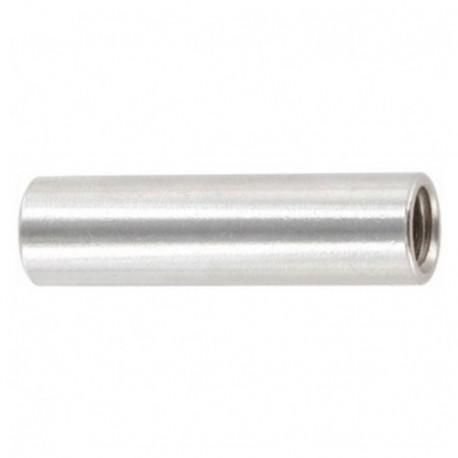 Manchon cylindrique M6 x 30 mm INOX A2 - Boite de 50 pcs - DIAMWOOD MANC06030A2