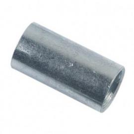 Manchon cylindrique M12 x 30 mm Zingué - Boite de 100 pcs - fixtout MANC1203002B