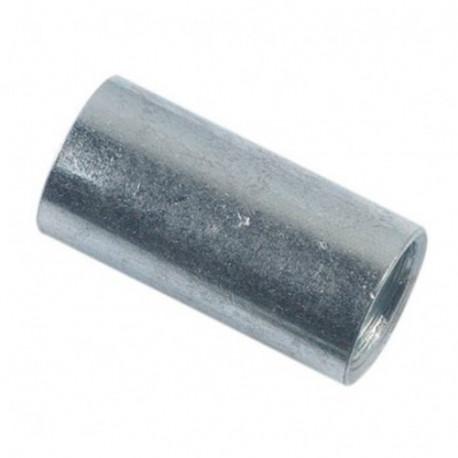 Manchon cylindrique M12 x 30 mm Zingué - Boite de 100 pcs - DIAMWOOD MANC1203002B