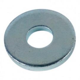 Rondelle plate charpente M16 x 45 x 5 mm Zinguée - Boite de 50 pcs - fixtout RC16X45X502B
