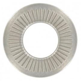 Rondelle contact moyenne M4 mm INOX A2 - Boite de 200 pcs - fixtout RCOM04A2