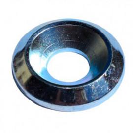 Rondelle cuvette pour vis tête fraisée M8 mm Zinguée - Boite de 100 pcs - fixtout RDCUV0802B