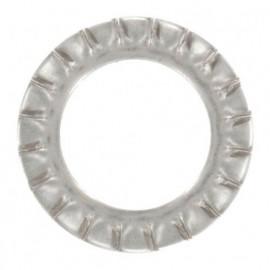 Rondelle éventail M5 mm AZ INOX A4 - Boite de 200 pcs - fixtout REAZ05A4
