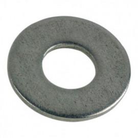 Rondelle plate large M10 mm L INOX A2 - Boite de 100 pcs - fixtout RPL10A2