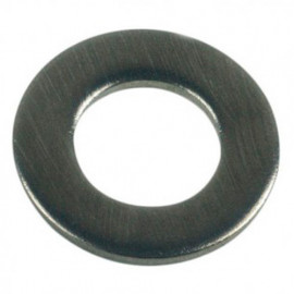 Rondelle plate moyenne M5 mm INOX A2 - Boite de 100 pcs - fixtout RPM05A2B100