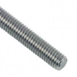 Tige filetée 1 Mètre M10 mm Zinguée - Boite de 25 pcs - fixtout TF1002B