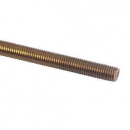 Tige filetée 1 Mètre M6 mm Laiton - 1 pc - fixtout TF1M06LNB