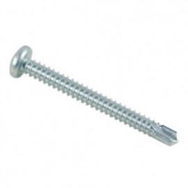 Vis autoperceuse tête cylindrique Phillips 3.5 x 25.4 mm Zinguée - Boite de 500 pcs - fixtout VAFCC3525402B