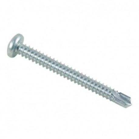 Vis autoperceuse tête cylindrique Phillips 4.8 x 38 mm Zinguée - Boite de 250 pcs - fixtout VAFCC4838002B