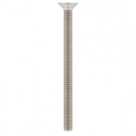Vis métaux tête fraisée 6 pans creux 6 x 12 mm FHC INOX A4 - Boite de 500 pcs - fixtout VFHC06012A4