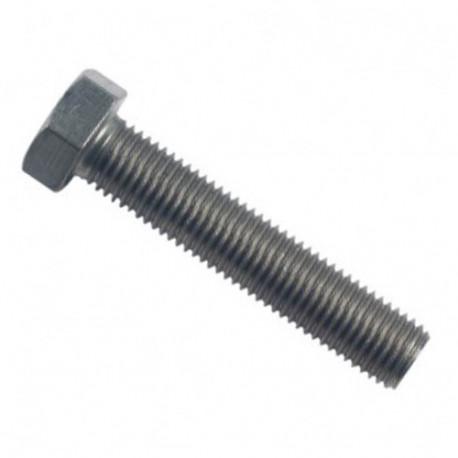 Vis métaux tête hexagonale F/Total 12 x 40 mm INOX A4 - Boite de 100 pcs - fixtout VHT12040A4