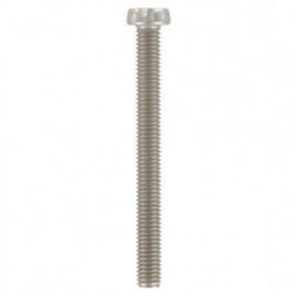 Vis métaux tête cylindrique Fendue 3 x 6 mm INOX A4 - Boite de 200 pcs - fixtout VMCF03006A4