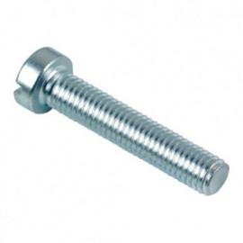 Vis métaux tête cylindrique Fendue 4 x 70 mm Zinguée - Boite de 500 pcs - fixtout VMCF0407002B