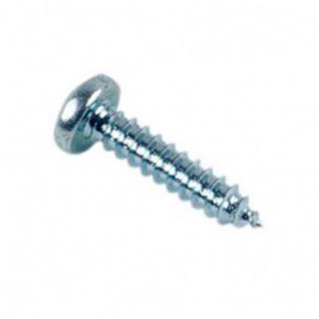 Vis à tôle tête cylindrique Pozidriv 3.5 x 25.4 mm Zinguée - Boite de 500 pcs - DIAMWOOD VTCC0625402B
