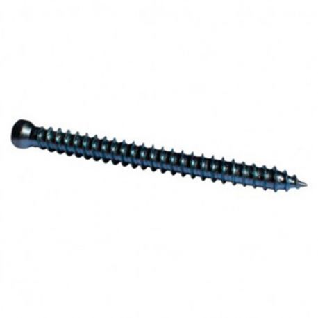 Vis béton d'ancrage tête réduite T30 7.5 x 122 mm Zinguée - Boite de 100 pcs - DIAMWOOD VBER7512202B