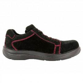 Chaussures de sécurité FEMME S1P modèle PINK - FOXTER