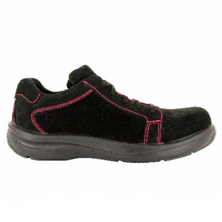 nouveau concept 356f7 2eff9 Chaussures de sécurité FEMME S1P modèle PINK - FOXTER
