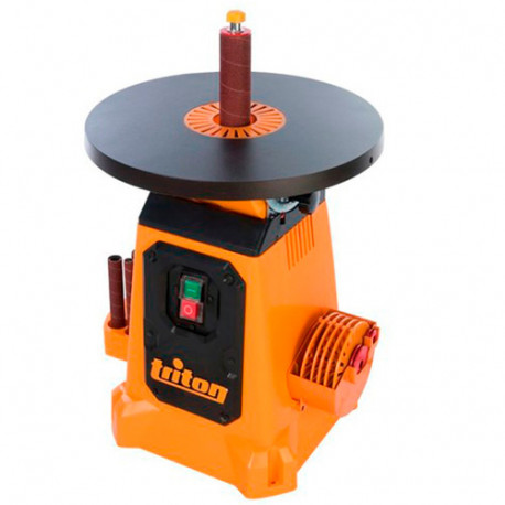 Ponceuse à cylindre oscillant avec plateau inclinable 380 mm, 350 W - 622768 - Triton