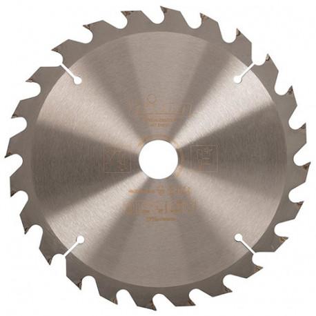Lame de scie circulaire D. 235 x 30 mm x Z : 24 dents - 384482 - Triton