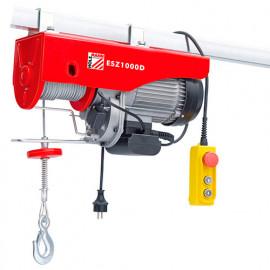 Palan électrique 1600 W 230 V charge max 1000 kg - ESZ1000D - Holzmann