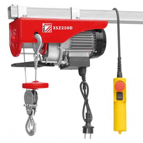Palan électrique 500 W 230 V charge max 250 kg - ESZ250D - Holzmann