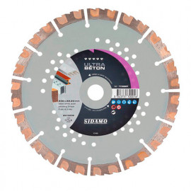 Disque diamant ULTRA BÉTON D. 125 x 22,23 x H 12 mm Béton / Béton armé - 11130000 - Sidamo