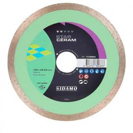 Disque diamant STAR CÉRAM D. 125 x 22,23 x H 7 mm Faïence - 11130033 - Sidamo