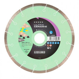 Disque diamant ULTRA CÉRAM-E D. 180 x 30 x H 8.5 mm Grès céram / faïence - 11130034 - Sidamo
