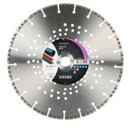 Disque diamant PRO FT D. 350 x 25,4 x H 5,3 mm Fonte / acier - 11130125 - Sidamo